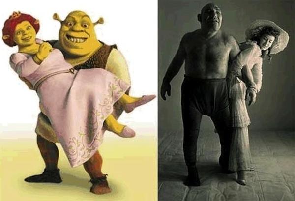 10 personajes ficticios basados en personas reales