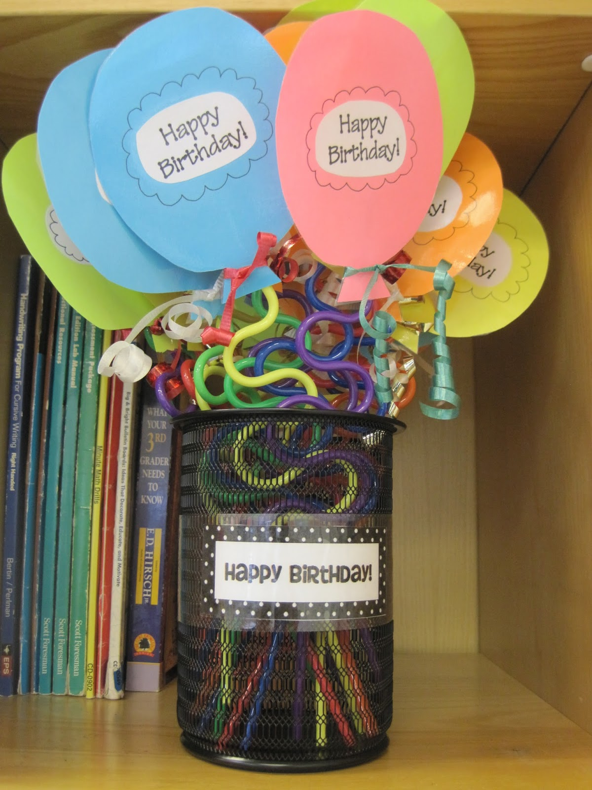 Classroom Birthday Ideas : The third grade learning spot classroom set up