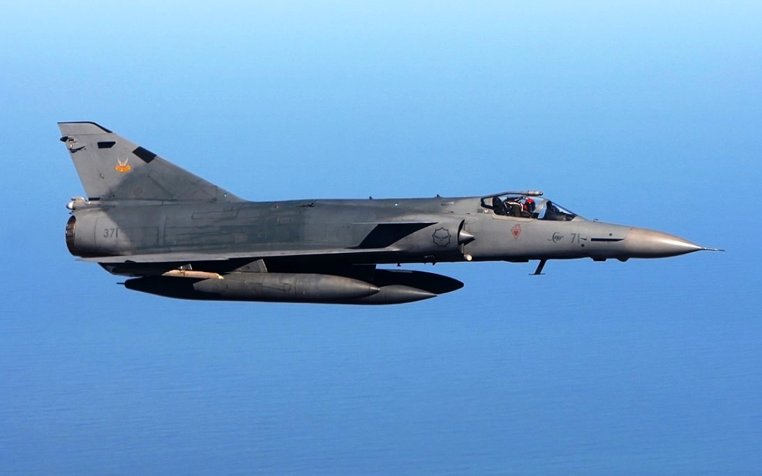 Atlas Cheetah fighter jet Wallpaper 3