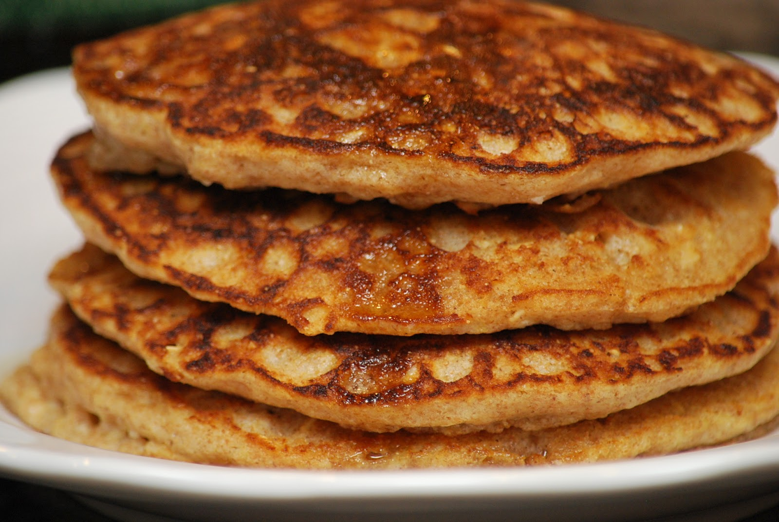 My story in recipes: Whole Grain Pancakes