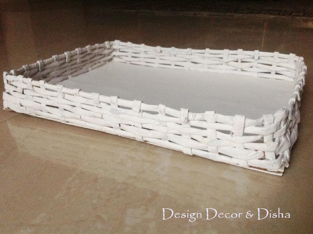 Basket Weaving Essay : Design decor disha an indian