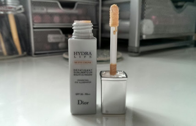 The dior BB eye cream