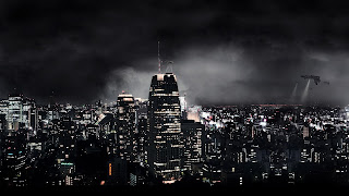 City at Night computer background wallpaper