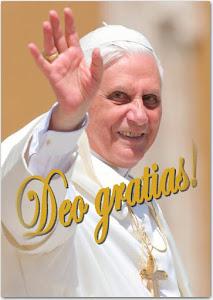 Köszönjük, Benedek pápa!