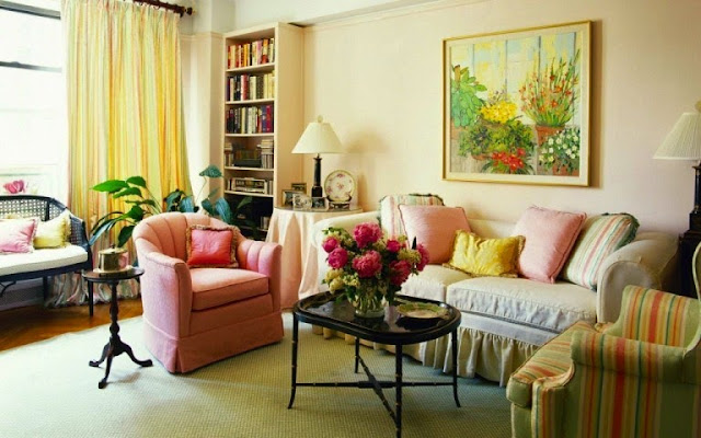 shabby chic interior paint colors behr