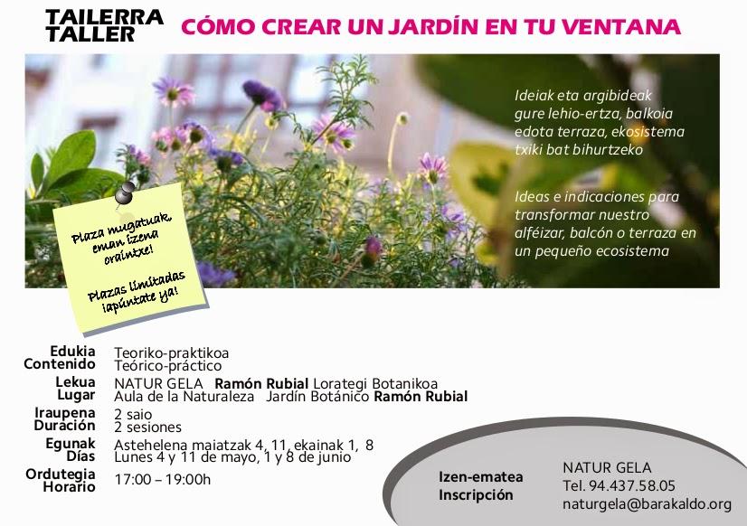 Barakaldo digital el aula del jard n bot nico celebra un for Como ir al jardin botanico