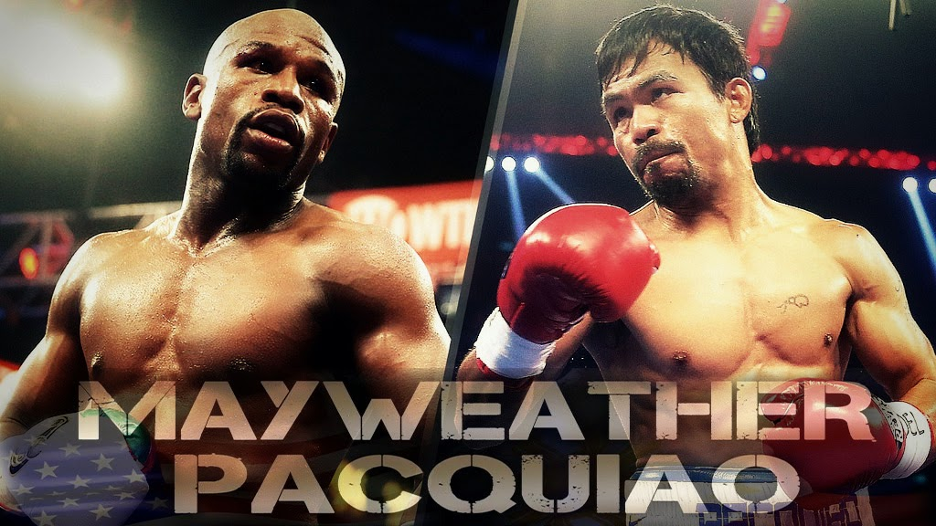 Richest boxing fight of the century