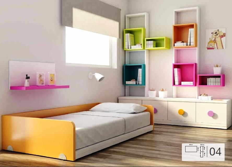 Tienda dormitorios juveniles decoraci n integral para tu - Habitacion infantil cama nido ...