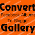 Add Facebook Photo Gallery To Blogger