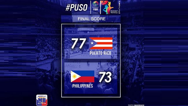 Gilas Pilipinas vs Puerto Rico Game Result and Summary: FIBA World Cup Basketball Game 2014