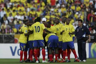 Convocados Ecuador Eliminatorias 2014