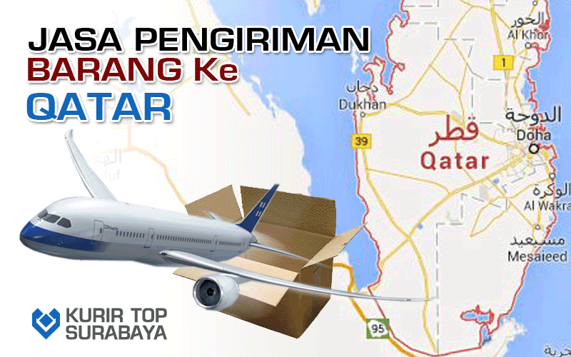 Jasa Pengiriman Luar Negeri | Ke Katar