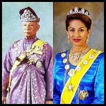KDYMM Sultan Pahang dan DYMM Sultanah