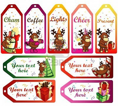 Christmas Labels Wallpapers