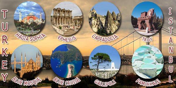 ISTANBUL, CAPPADOCIA, PAMUKKALE