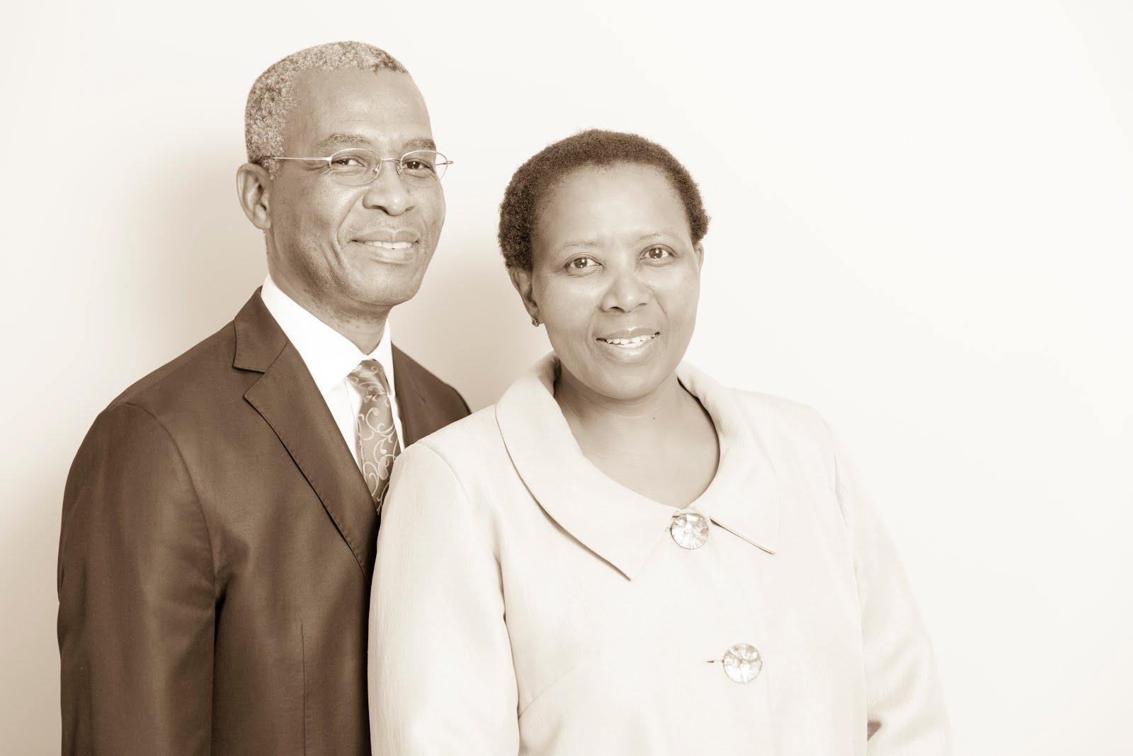 President and Sister Msane