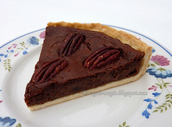 Chocolate Pecan Pie « Vegan Recipes « Vegan Magic