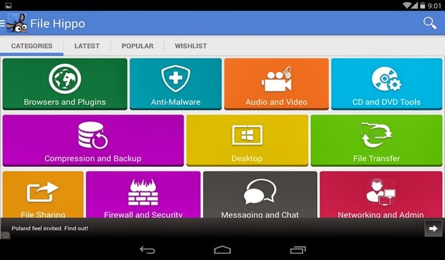 FileHippo android apk - Screenshoot