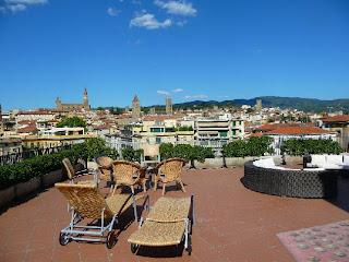 Hotel Continentale Arezzo - Terrazza