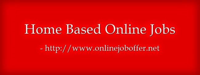 Home Based Data Entry Jobs In Part Time
