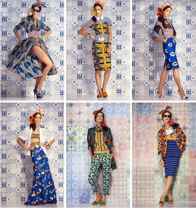 STELLA JEAN SPRING/SUMMER 2014 READY-TO-WEAR ciaafrique how-to mix prints
