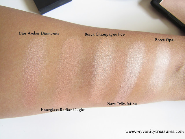 Nars Tribulation Swatch