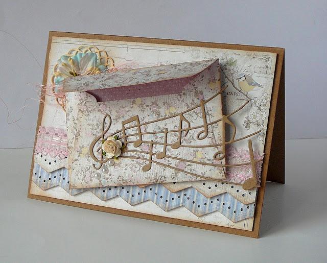 kartka z kopertą