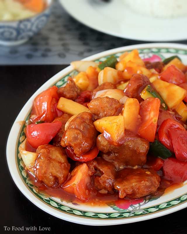To food with love the ubiquitous sweet and sour pork the ubiquitous sweet and sour pork forumfinder Images