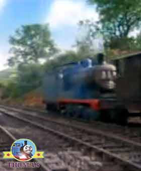 Steam train Thomas the tank engine Edward the really useful engine and friends on Island of Sodor