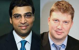 Echecs à León : Vishy Anand face à Alexei Shirov