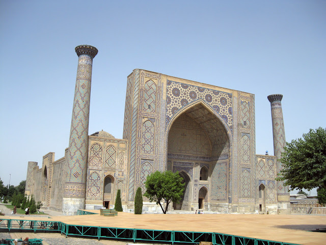 Uzbekistán, Samarcanda - madrasa de Ulugbek
