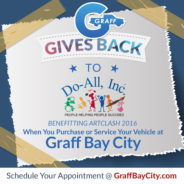 Graff Gives Back to Do-All, Inc. Through ArtClash 2016