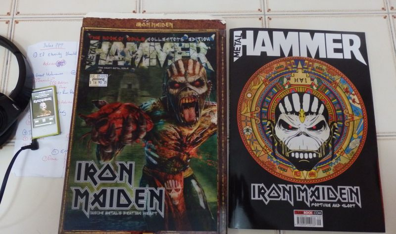 metal hammer iron maiden book of souls review