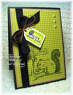 Stamps - Our Daily Bread Designs Thankful Song, ODBD Custom Recipe Card and Tags Die