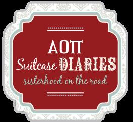 AOII Suitcase Diaries