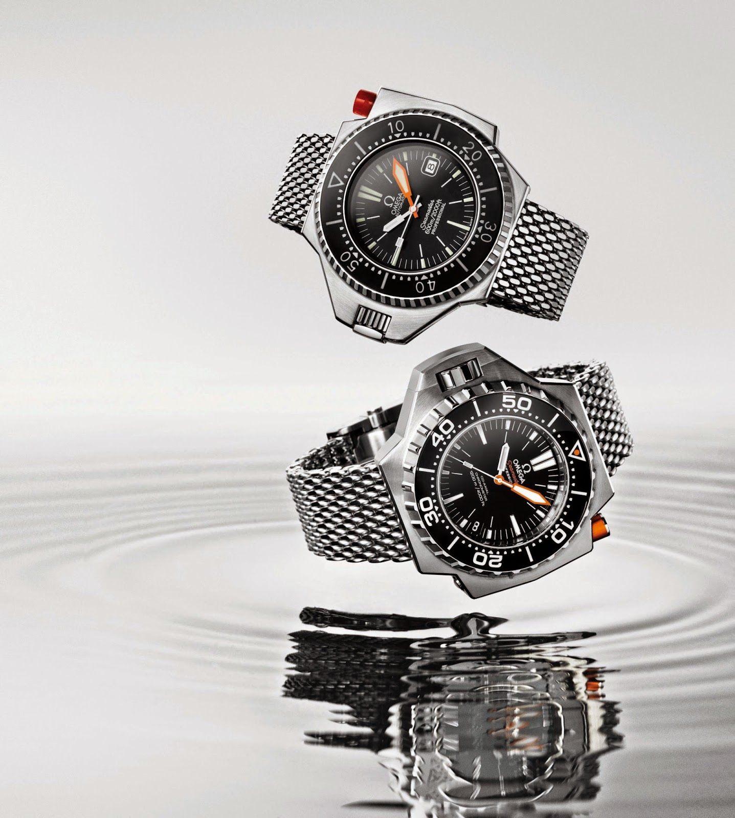 Omega Omega Seamaster Ploprof 1200M replica watch