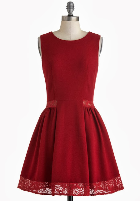 Modcloth, Modcloth.com, Cheery Maraschino Dress, wine color dress, burgundy, elegant dress, plum, lace inserts, Myrtlewood