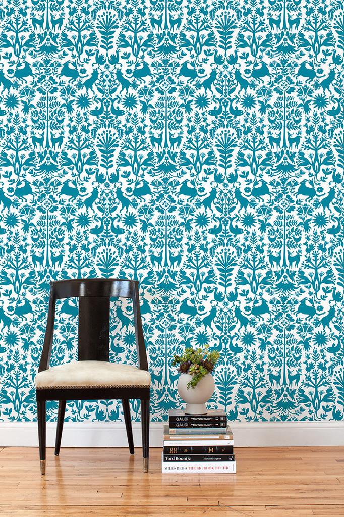 take 5 removable wallpaper the cottage market. Black Bedroom Furniture Sets. Home Design Ideas