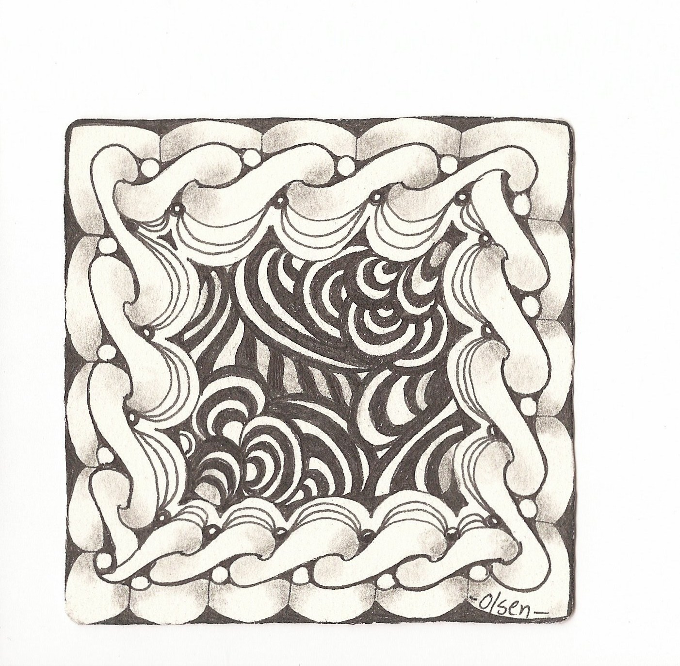 The book of zentangle roberts and thomas