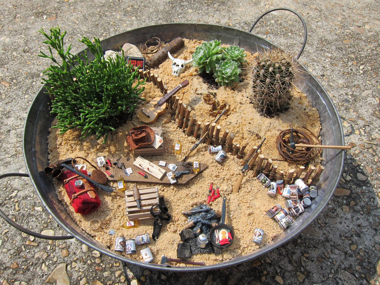 miniaturas para artesanato jardim ? Doitri.com