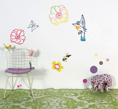 Wall Stickers, Printemps by Bohemia