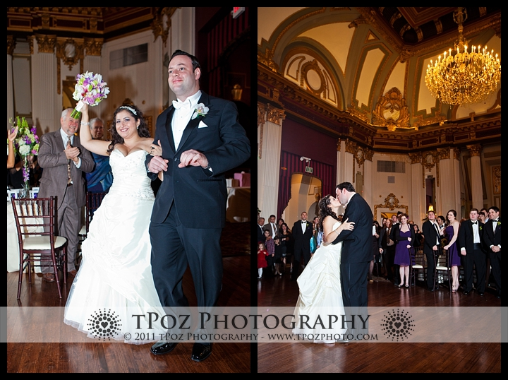 Belvedere Hotel Baltimore Ballroom Wedding Photos