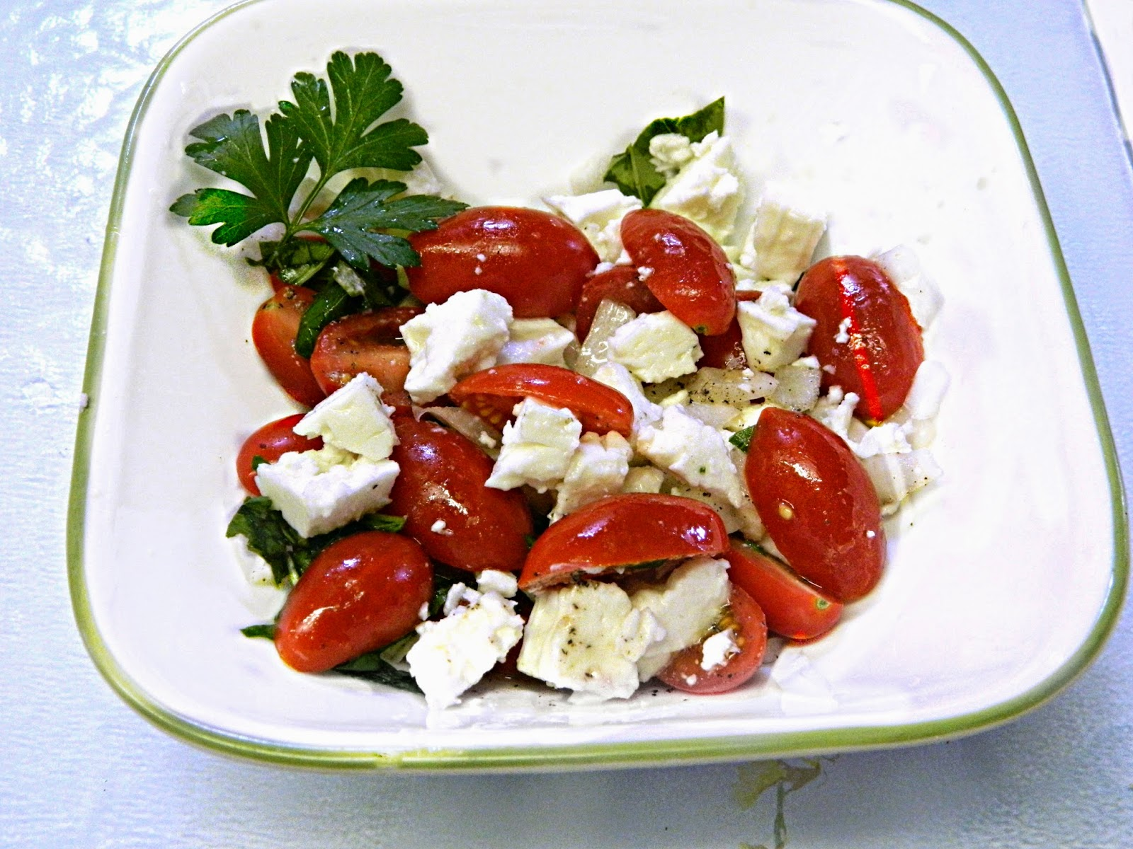 ... tomato and feta salad tomato feta summer salad greek tomato and feta
