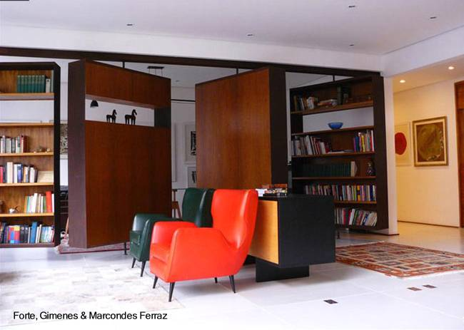 Arquitectura de casas tabiques m viles divisorios de - Tabiques separadores de ambientes ...