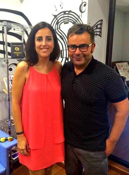 Con Jorge Javier Vázquez