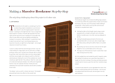 David Easy Fine Woodworking Bookcase Plans Wood Plans Us Uk Ca