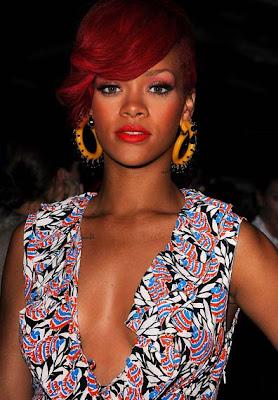Rihanna Costume Hoop Earrings