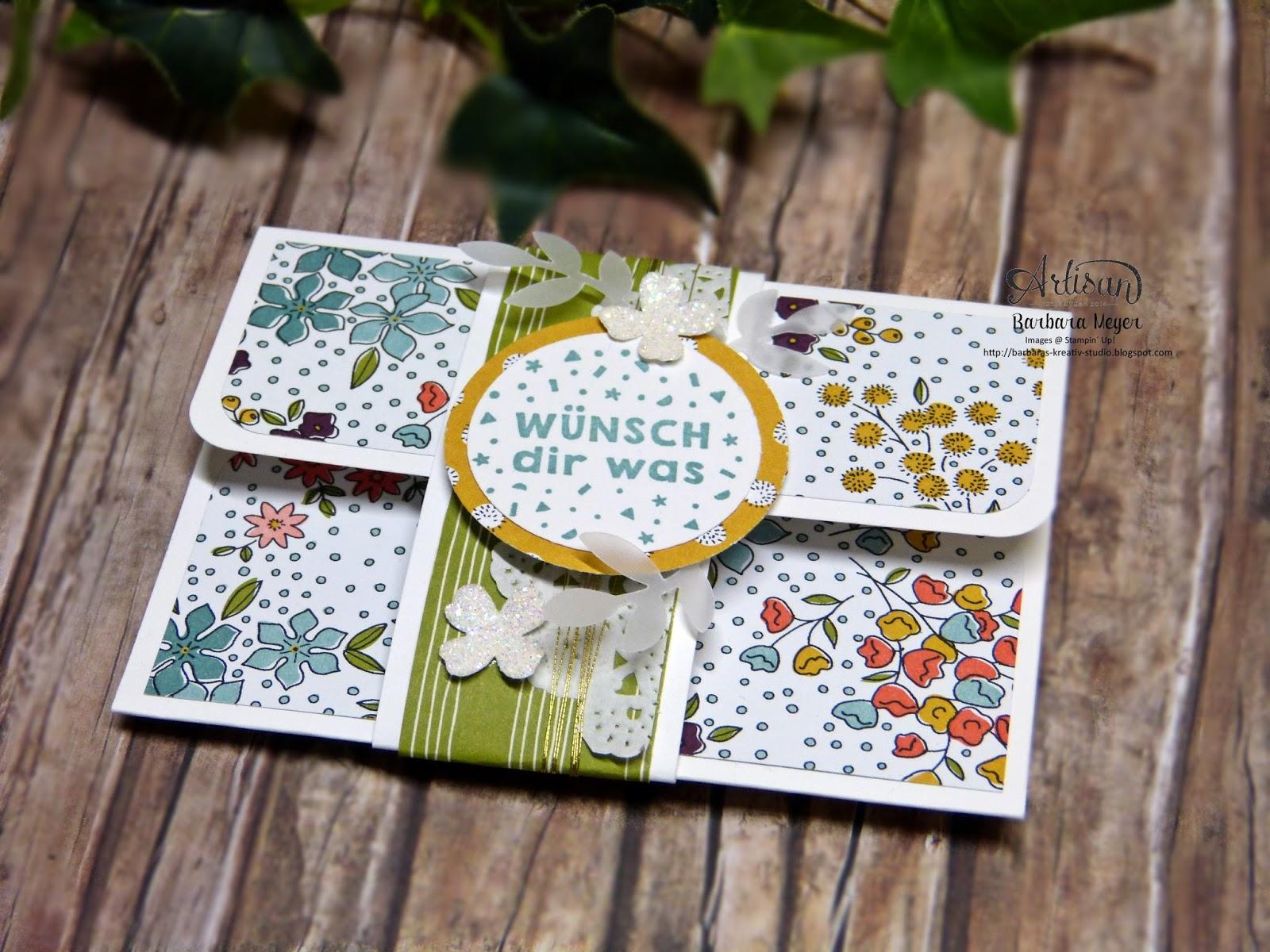 ... StampinUp! Demonstratorin in Wien : Geldgeschenke hübsch verpackt