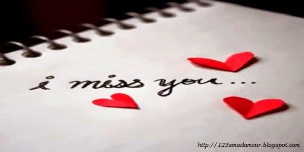 Message d'amour qui manque