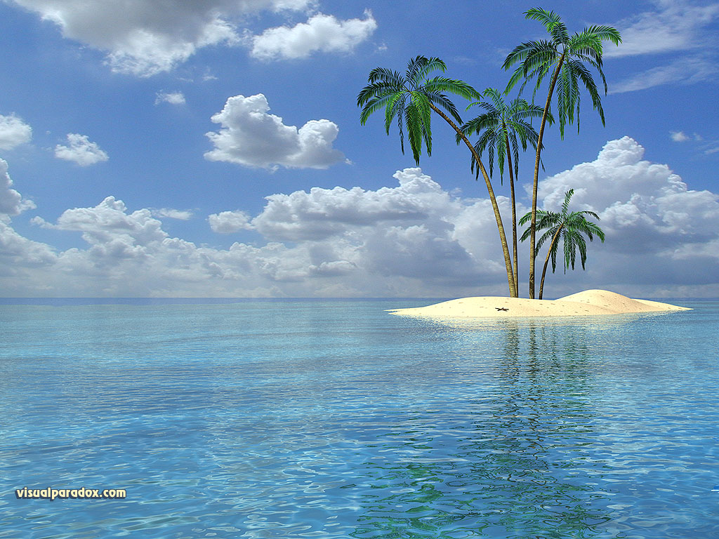 tropical island backgrounds - photo #2